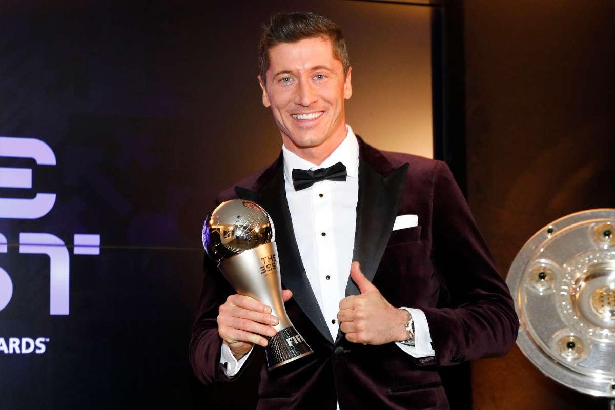 FIFA Awards Robert Lewandowski Wins Top Award Full List