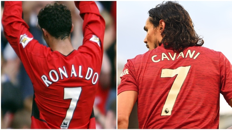 Cristiano Ronaldo Thanks Edinson Cavani for Giving Him Back the Number 7  Shirt - Latest Sports News in Ghana & Sports News Around the World